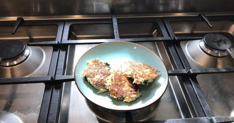 Pastinaak koekjes met roquefort