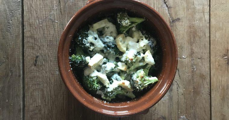 Broccoli pastinaak ovenschotel
